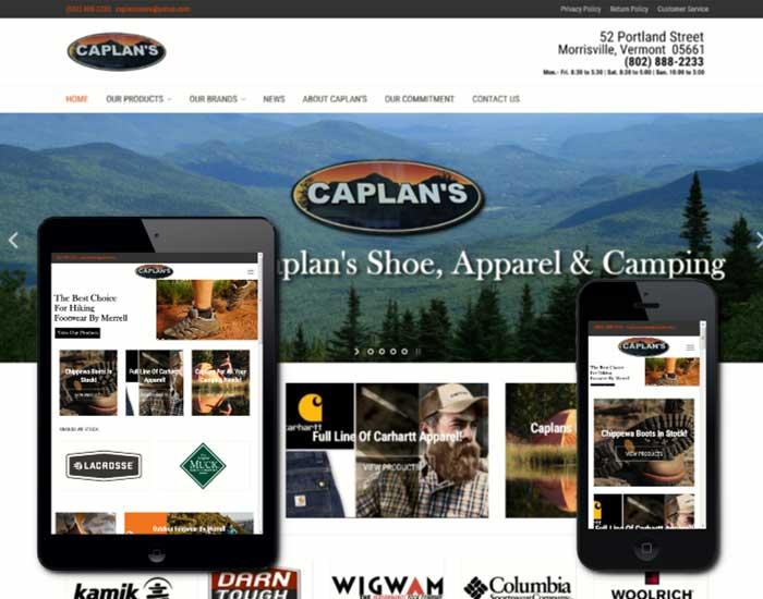 Quality Web Design Morrisville Vermont By 802design