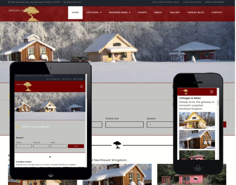 Affordable Web Design Vermont Small Business Web Design